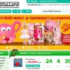Lelufantti.fi etusivu