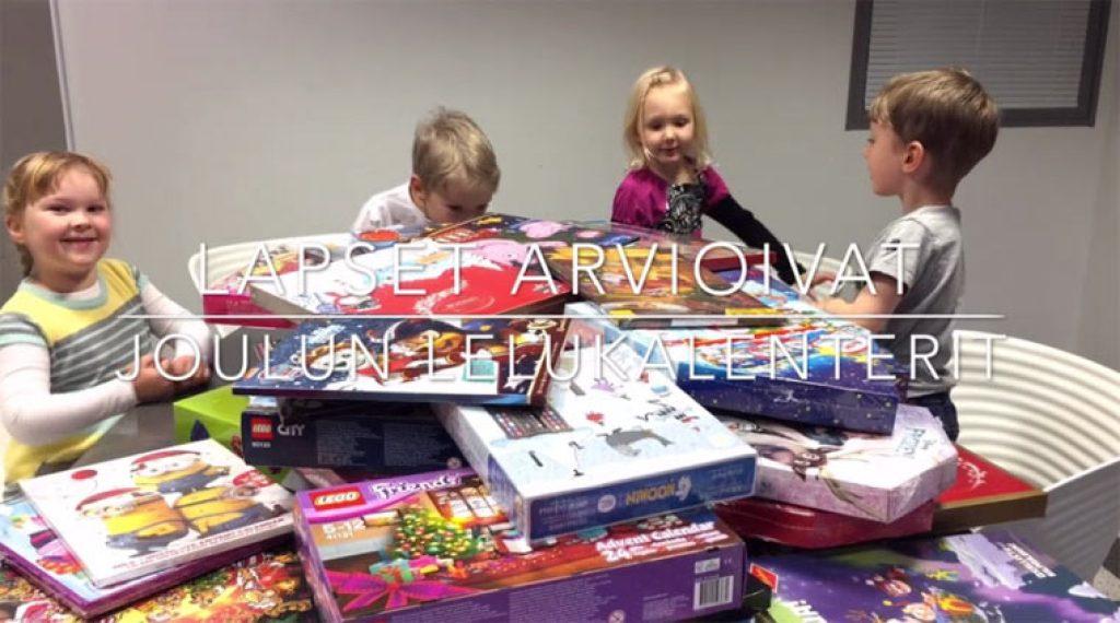 Lapset arvioivat joulukalentereita