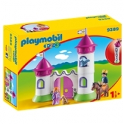 9389 Playmobil Linna kasattavalla tornilla