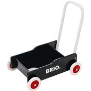 BRIO Opi kävelemään vaunu Musta