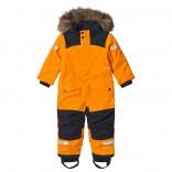 Björnen Talvihaalari Bright Orange130 (7-8 v)