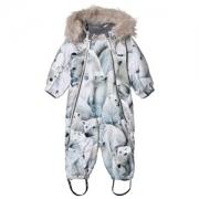 Molo Pyxis Faux Fur Snowsuit Polar Bear 80 cm (9-12 Months)