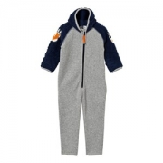 Molo Uny Fleece Onesie Navy Blue 62 cm
