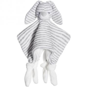 Teddykompaniet Cotton Cuties Torkkuviltti Harmaa