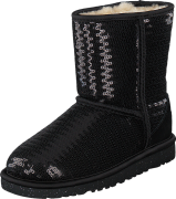UGG Cl. Short Sparkle Black, Kengät, Bootsit, Talvisaappaat, Musta, Unisex, 30