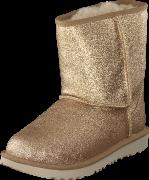 UGG Classic Short Ii Glitter Gold, Kengät, Bootsit, Talvisaappaat, Ruskea, Beige, Unisex, 32