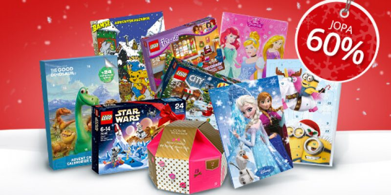 Ohessa suosituimmat joulukalenterit!