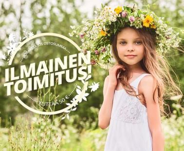 Hyvää Juhannusta! Lekmerin kesäale + ilmainen toimitus alennuskoodilla!