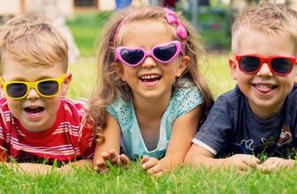 Lasten aurinkolasit – sinisilmäisten tulisi aina pitää aurinkolaseja