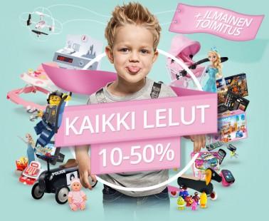 Leluale Lekmerillä – kaikki lelut -10-50% !