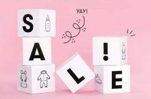 Mid Season Sale alkoi Babyshopissa, alennukset jopa -50%