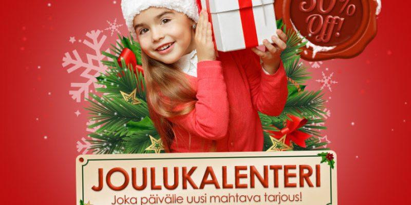Joululahjoja – VÄHINTÄÄN 50% ale!