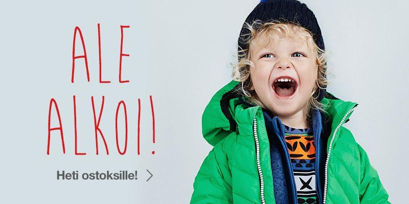 Reimashopin lastenvaate ALE alkoi jo !!