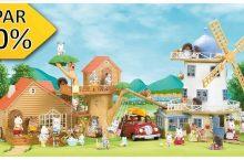 ALE jatkuu ! Valloittavat Sylvanian Families – lelut  alennuksessa Eurotoys:lla -30%